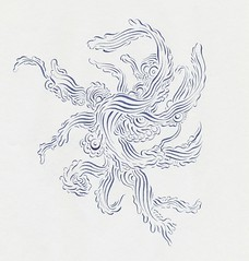 dark blue (Alkaline Samurai) Tags: zig lineart inkart alkalinesamurai