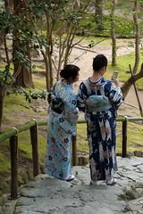outsider photography (x/y) (ault) Tags: japan kyoto kimono ginkakuji silverpavilion  kyotoprefecture nikkormicro105f28