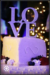 *LOVE* (^i^heavensdarkangel2) Tags: nightphotography wedding love colorado celebration pagosasprings heavenlyfood weddingtopcake desbahallison heavensdarkangel2 larissachase