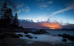 Sand Harbor (thereshegoesagain) Tags: nightphotography tahoe sandharbor