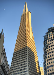 TransAm Building, San Francisco (neilalderney123) Tags: sanfrancisco moon architecture cityscape olympus transamerica transam 2016neilhoward