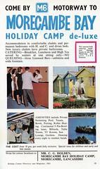 Morecambe Bay Holiday Camp, Heysham - 1965 advert (trainsandstuff) Tags: morecambebayholidaycamp heysham advert retro 1960s holidaycamp advertising holidaycentre morecambe heyshamtowers postcard vintage lancs lancashire