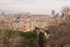 To the sea (Derek N Winterburn) Tags: spain barcelona montjuïc catalunya es 1places