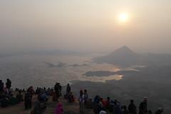 Lembu Mountain - Lembu Stone (Batu Lembu) (My.Lord) Tags: sky panorama mountain lake landscape view hill waduk mylord purwakarta lembu jawabarat