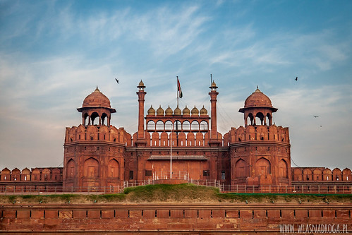 Czerwony Fort w Starym Delhi