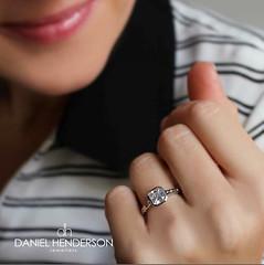 Wedding  Bells (dhjewellers) Tags: scotland edinburgh diamond proposal platinum weddingplanning threestone edinburghjewellers edinburghproposal