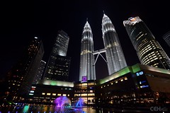 KLCC with Fountain
