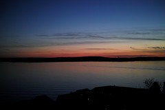 Meersburg and Lake Constance after sunset (mkk707) Tags: sunset lake deutschland bodensee meersburg sigmadp2merrill sigmafoveonstyle
