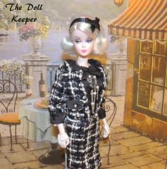 2015 Silkstone Boucle' Beauty Barbie Doll (The doll keeper) Tags: doll barbie platinum 2015 silkstone