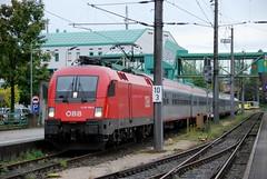 Bregenz 19.09.2011 (The STB) Tags: en siemens zug bregenz taurus bahn bb euronight sterreichischebundesbahnen br1116 bb1116