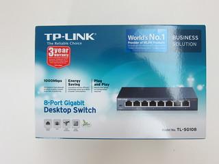 TP-Link 8-Port Gigabit Desktop Switch (TL-SG108)