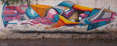 MOCRE (BE'N 59) Tags: en streetart blanco sanmigueldeallende mexique muros