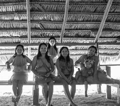 Comunidad Yagua (Jairo Pez) Tags: travel viaje white black blanco america canon rebel amazon colombia noiretblanc south negro postcards latinoamerica postal comunidad indigenas indigenous amazonas indias t3i jairo suramerica paez indigena yagua 600d postard blackwhiteaward yaguas