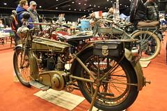 1920 Simplex PV 500 cc V-Twin 4 hp (Davydutchy) Tags: holland netherlands bike bicycle march nederland motorbike motorcycle biker frise motor vtwin pv friesland niederlande motorrad drachten simplex 500cc 2016 krad frysln frisia motorfiets cyclomoteur 4hp oldtimerbeurs