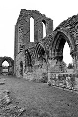 Croxden (Peter Gutierrez) Tags: door old uk england bw white black english heritage history abandoned film church abbey grass saint st stone wall architecture square lost religious photo ancient ruins gate europe european arch unitedkingdom britain stones united mary great gothic ruin kingdom arches medieval historic christian vale peter national trust gateway gutierrez british walls cistercian staffordshire brit deserted abandonned ruined brits europeans peter croxden gutierrez