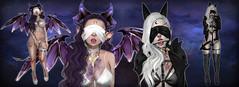 We are coming to take you away ! (N G H T M R) Tags: dark puppy gothic goth bdsm creepy sl fantasy secondlife demon slave succubus