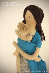 Boneca com Wrap Sling (Dani_Fressato) Tags: colo doll handmade artesanato sling beb boneca maternidade trabalhomanual ideias retalhos danifressato