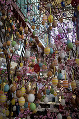 Florence 2015 - 0620.jpg (DavidRBadger) Tags: city italy tree easter florence display market decoration tuscany eggs historical firenze eastereggs mercatocentrale paintedeggs decoratedeggs