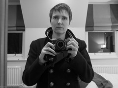 (cjcrosland) Tags: selfportrait bournemouth peacoat