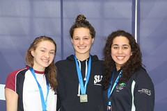 Girls 16yrs 800m free medallists (scottishswim) Tags: swimming glasgow age championships groups scottishswimming