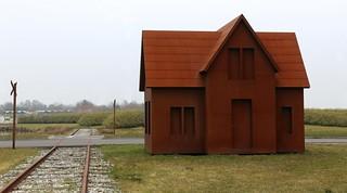 Train Track House