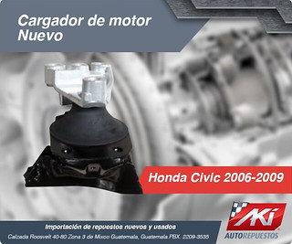 CARGADOR DE MOTOR  CIVIC 2006