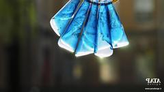 Calla blue Patadesign.it (Claudio.Recanatini) Tags: blue woman necklace jewlery patadesign