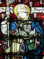 Retford - St Swithun's - Kempe Glass (Glass Angel) Tags: tower stainedglass nottinghamshire retford kempe stswithun sthughoflincoln