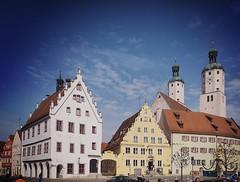 Wemding, Altstadt (tarnpulli) Tags: cityhall marketplace rathaus altstadt oldtown marktplatz wemding altehuser