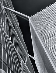 Wireframe (Rude but sexy) Tags: city abstract milan building architecture blackwhite