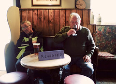 Reversed (Christopher Preece) Tags: england beer bar pub wine drink grapes leominster