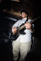 Ahab (Merrill_Sampson_Fotography) Tags: white black rock drums bass guitar band roll vox