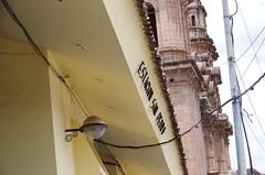 San Pedro  (Novembre 2015) (Ostrevents) Tags: voyage street trip light peru southamerica station cuzco facade america san gare cusco south pedro sur rue railways faade sanpedro sud prou suramerica fronton lumire amrique amriquedusud estation chemindefer chn sanpedrostation ostrevents prurail garesanpedro estationsanpedro