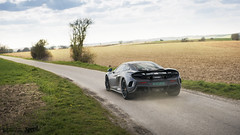 675LT on a small countryroad (Lennard Laar) Tags: road sun cars netherlands car sport photography 50mm grey spring nikon cruising super hills mclaren fields british dust nikkor f18 supercar countryroad lt sportscar limburg 675 2016 carspotting d610 lennard laar carsighting ritrondderivieren lennardlaar 675lt ritrondderivieren2016