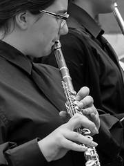 En concierto (Egg2704) Tags: bw byn blanco banda y negro msica msico flauta msicos orquesta intrpretes intrprete bandamusical egg2704