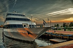 Spirit of Norfolk, Norfolk, Virginia (BDM17) Tags: sunset reflection water river virginia pier boat dock ship elizabeth yacht spirit norfolk va moored