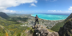 Tom Tom (Marvin Chandra) Tags: ocean panorama landscape hawaii oahu hiking hiker 24mm waimanalo windward tomtom 2016 d600 platinumheartaward marvinchandra