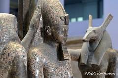 Ramses III (konde) Tags: statue museum seth ancient granite horus medinethabu newkingdom ramsesiii 20thdynasty