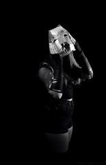 Iron mask (paula_pepper) Tags: light white black art love blanco luz beauty face make up look mouth hair neck naked pepper mercedes mujer eyes media iron break purple shot mask gente skin body sister brother retrato negro gothic cara young lips retratos paula cruz ojos mascara formas boca mirada guapa guapo hermana pau fondo rostro hermanos belleza pelo cuerpo desnudo rota gotico cuello hierro merche contrario rasgos morados