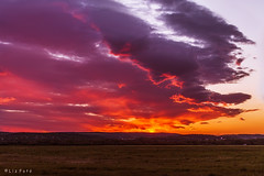 Beuatiful Sunset (lajza27) Tags: sunset red cloud nature beautiful clouds canon landscape outdoors lights spring nice outdoor naplemente tyndall redclouds cloudcolors alstsnaplemente