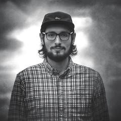 Andrew (Brent//Snaps//Shots.) Tags: portrait blackandwhite bw panasonic 135mm minoltarokkor microfourthirds m43s