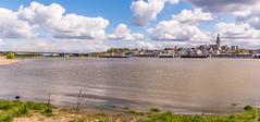 Nijmegen (Henk Verheyen) Tags: bridge netherlands clouds nijmegen river landscape outside spring cityscape nederland wolken nl brug lente buiten landschap waal gelderland waalbrug rivier stadsgezicht