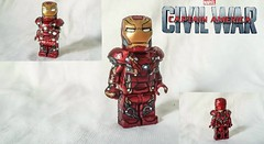 Civil War-Iron Man Mark 46 (FTG Prime) Tags: lego ironman civilwar custom marvel captainamerica moc bleedingedge mark45