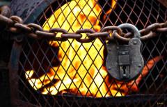 Dry Lock (gshaun12) Tags: macro metal closeup fire lock chain flickrfriday