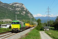 Du vert pour la suite rapide (pierre141f282) Tags: train montagne de 2000 g suite bb chambry savoie gop travaux verte rvb maurienne ttx rapide myans disel