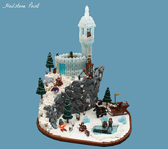 Hailstone Point ('Sergeant Chipmunk') Tags: castle lego l moc