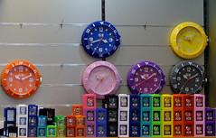 Clocks (p.franche) Tags: brussels color clock shop europe magasin belgium belgique bruxelles panasonic dxo horloge brussel hdr couleur belge montres fz200 pascalfranche pfranche
