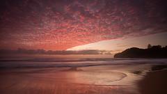 Warriewood Sunrise (RoosterMan64) Tags: longexposure seascape clouds sunrise landscape sydney australia lee nsw northernbeaches warriewood pinlk leefilters