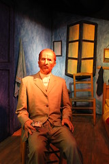 Van Gogh in Wax (Bart D. Frescura) Tags: sanfrancisco color fishermanswharf wax waxmuseum vangogh bdf califorina waxworks lustforlife bartdfrescura