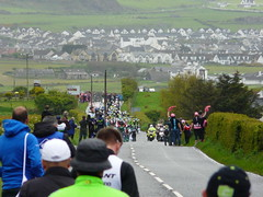Waved On (mdavidford) Tags: road sport race cycling hands waiting hills bushmills stage2 peloton giroditalia feedzone soigneur whiteparkroad